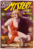 Pulps:Horror, Spicy Mystery Stories - April 1936 (Culture) Condition: VF....