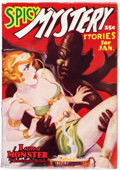Pulps:Horror, Spicy Mystery Stories - January 1937 (Culture) Condition: ...