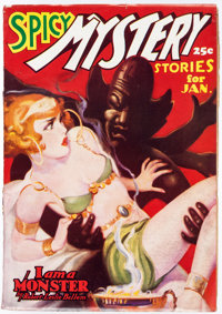 Spicy Mystery Stories - January 1937 (Culture) Condition: VF-