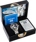 Explorers:Space Exploration, Richard Gordon Owned and Worn Limited Edition, #0564/1000, Luxury Chronograph with Flown Shuttle STS-47 Tile Material Used for...