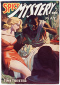 Pulps:Horror, Spicy Mystery Stories - May 1938 (Culture) Condition: FN/VF....