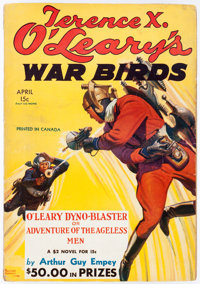 Terence X. O'Leary's War Birds - April 1935 (Dell) Condition: VG/FN