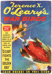 Terence X. O'Leary's War Birds - March 1935 (Dell) Condition: FN-