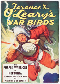 Terence X. O'Leary's War Birds -June 1935 (Dell) Condition: FN-