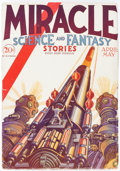 Pulps:Science Fiction, Miracle Science and Fantasy Stories - April/May 1931 (Good Story Magazine Company) Condition: FN-....