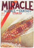 Pulps:Science Fiction, Miracle Science and Fantasy Stories - June 1931 (Good Story Magazine Company) Condition: VG/FN....