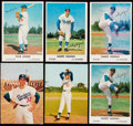 Baseball Cards:Lots, 1960-62 Morrell Meats/Bell Brand Los Angeles Dodgers Collection (33)....