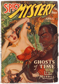 Spicy Mystery Stories - April 1941 (Culture) Condition: VG+
