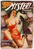 Pulps:Horror, Spicy Mystery Stories - August 1939 (Culture) Condition: VG/FN....