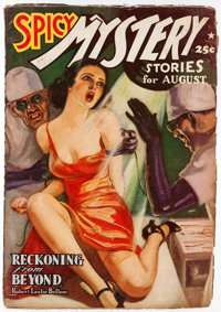Spicy Mystery Stories - August 1939 (Culture) Condition: VG/FN