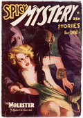 Pulps:Horror, Spicy Mystery Stories - December 1937 (Culture) Condition: VG....