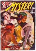 Pulps:Horror, Spicy Mystery Stories - September 1936 (Culture) Condition: FN-....
