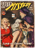 Pulps:Detective, Speed Mystery - March 1943 (Trojan Publishing) Condition: ...