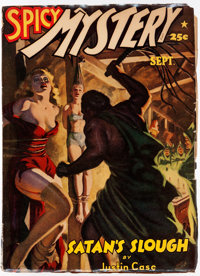 Spicy Mystery Stories - September 1942 (Culture) Condition: FN-
