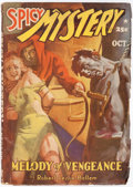 Pulps:Horror, Spicy Mystery Stories - October 1941 (Culture) Condition: VG+....