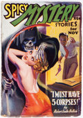 Pulps:Horror, Spicy Mystery Stories - November 1936 (Culture) Condition: VG/FN....