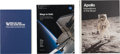 Explorers:Space Exploration, NASA Unread Books (Three): Where No Man Has Gone Before (Original Box), Apollo Expeditions To The Moon... (Total: 3 Items)
