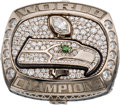 Football Collectibles:Others, 2013 Seattle Seahawks Super Bowl XLVIII Championship Ring....