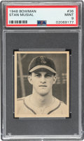 Baseball Cards:Singles (1940-1949), 1948 Bowman Stan Musial #36 PSA Mint 9 - Only One Higher. ...