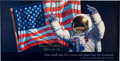 "Explorers:Space Exploration, Alan Bean Signed ""America's Team... Just the Beginning"" Print for the Anniversary of Apollo 11. ..."