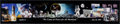 """Explorers:Space Exploration, Buzz Aldrin Signed Limited Edition Panoramic """"We Came In Peace For All Mankind"""" Color Collage Photo, #35/100. ..."""