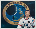 Explorers:Space Exploration, Alan Shepard Apollo 14 White Spacesuit Color Photo. ...