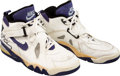 Basketball Collectibles:Others, 1994 Charles Barkley Game Worn & Signed Phoenix Suns Sneakers....