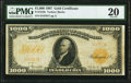Large Size:Gold Certificates, Fr. 1219e $1,000 1907 Gold Certificate PMG Very Fine 20.. ...