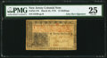 Colonial Notes:New Jersey, John Hart Signed New Jersey March 25, 1776 12s PMG Very Fine 25.. ...