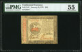 Colonial Notes:Continental Congress Issues, Continental Currency January 14, 1779 $35 PMG About Uncirculated 55.. ...