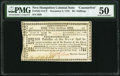 Colonial Notes:New Hampshire, New Hampshire November 3, 1775 30s Counterfeit PMG AboutUncirculated 50.. ...