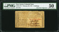 Colonial Notes:New Jersey, John Hart Signed New Jersey February 20, 1776 6s PMG About Uncirculated 50.. ...