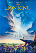 "Movie Posters:Animation, The Lion King (Buena Vista, 1994). Rolled, Very Fine/Near Mint. One Sheet (27"" X 40"") DS. John Alvin Artwork. Animation.. ..."