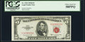 Fr. 1534 $5 1953B Legal Tender Note. PCGS Choice About New 58PPQ