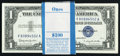 Small Size:Silver Certificates, Fr. 1621 $1 1957B Silver Certificates. Ninety-nine Consecutive Examples.. ... (Total: 99 notes)