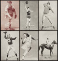 Olympic Cards:General, 1939-1946 Salutation, 1948 Champion & Boxers Exhibits Collection (37) With Mikan Rookie! ...