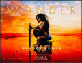 """Movie Posters:Action, Wonder Woman (Warner Brothers, 2017). Rolled, Very Fine+. Window Cling Banner (60"""" X 45.75"""") Advance. Action.. ..."""
