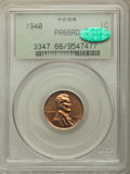 Proof Lincoln Cents: , 1940 1C PR66 Red PCGS. CAC. PCGS Population: (291/22). NGC Census: (132/13). CDN: $250 Whsle. Bid for problem-free NGC/PCGS...