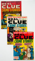Golden Age (1938-1955):Crime, Real Clue Crime Stories Group of 5 (Hillman Fall, 1951-52) Condition: Average VG-.... (Total: 5 Comic Books)