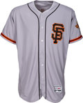 Baseball Collectibles:Uniforms, 2016 Madison Bumgarner Game Worn San Francisco Giants Jersey - MLB Authentic & Photo Matched. ...