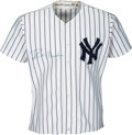 Baseball Collectibles:Uniforms, 1987 Rickey Henderson Game Worn & Signed New York Yankees Jersey....