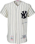 Autographs:Jerseys, 1990's Joe DiMaggio Signed New York Yankees Jersey. ...