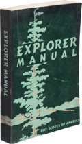 Explorers:Space Exploration, Boy Scouts: Neil Armstrong's Personal Boy Scouts of America Explorer Manual Directly From The Armstrong Family Col...