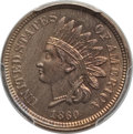 Indian Cents, 1860 1C MS65 PCGS. PCGS Population: (197/63 and 7/6+). NGC Census: (125/37 and 3/0+). CDN: $1,000 Whsle. Bid for problem-fr...