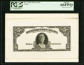 Canadian Currency, DC-27 $5 1924 Face Proof PCGS Gem New 66PPQ.. ...