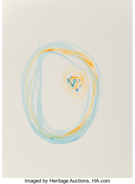 Mariko Mori (b. 1967) Untitled (from the Connected World series), 2003 Watercolor on paper 30 x 22-1/2 inches...