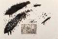Works on Paper:Contemporary, José Bedia (b. 1959). Untitled (from Cronicas Americanas series), 1983. Mixed media with a digital reproduction phot...
