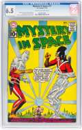 Silver Age (1956-1969):Science Fiction, Mystery in Space #71 (DC, 1961) CGC FN+ 6.5 Cream to off-white pages....
