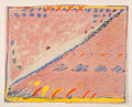 Prints & Multiples:Print, Sybil Kleinrock (20th century). Untitled (Seascape) and Untitled I (two works), 1979. Lithographs in colors on wove ... (Total: 2 Items)