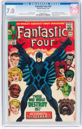 Silver Age (1956-1969):Superhero, Fantastic Four #46 (Marvel, 1966) CGC FN/VF 7.0 Off-white to white pages....